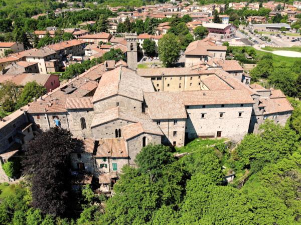 Abbazia di San Salvatore vista dal retro