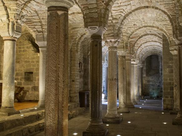 Cripta dell'Abbazia di San Salvatore