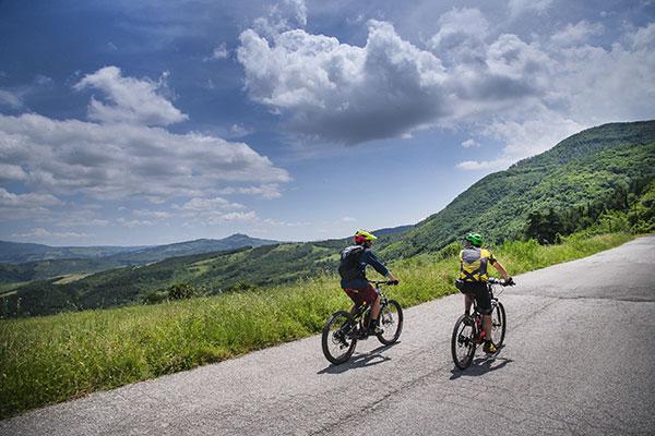 Panorami in bici sul Monte Amiata